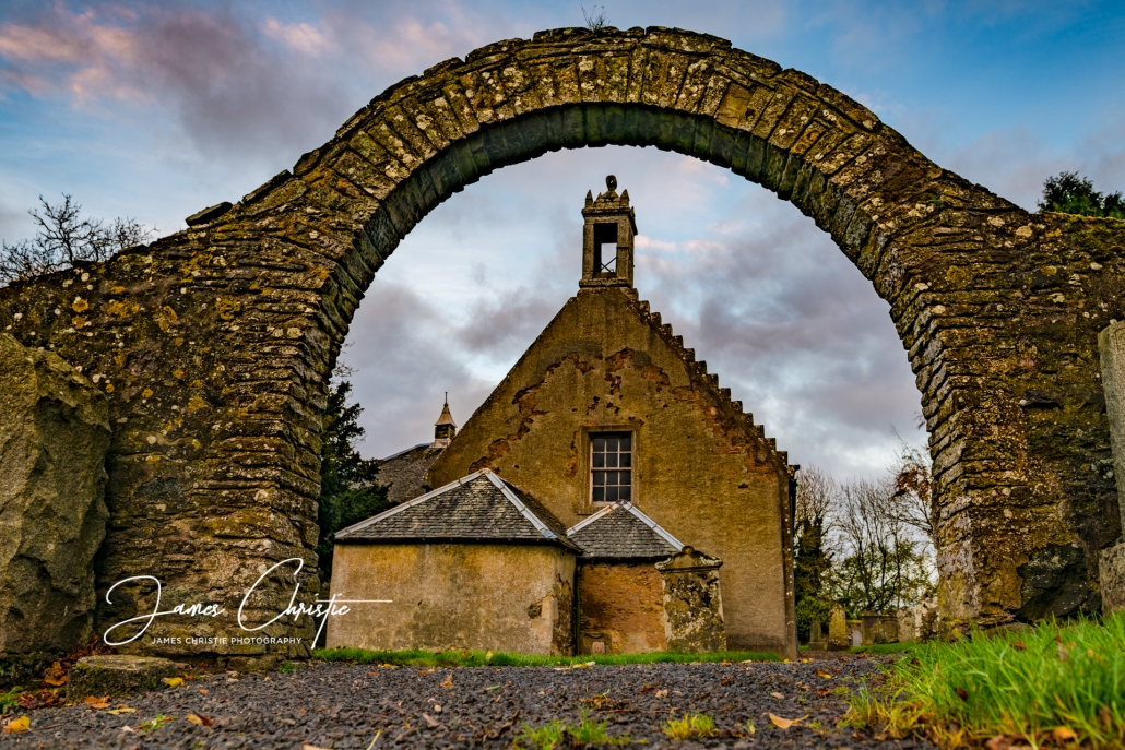 Custom Photography Tour Scotland, Outlander photography tours, Tibbermore Church