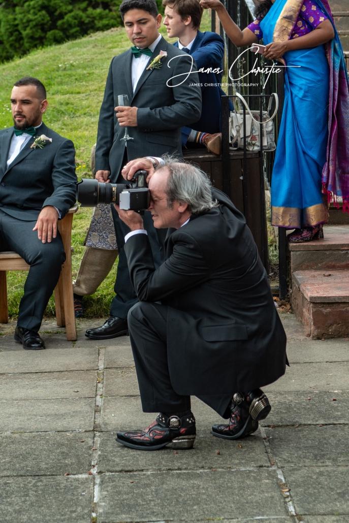 James Christie, Blackstar Photography Limited, Edinburgh wedding photographer