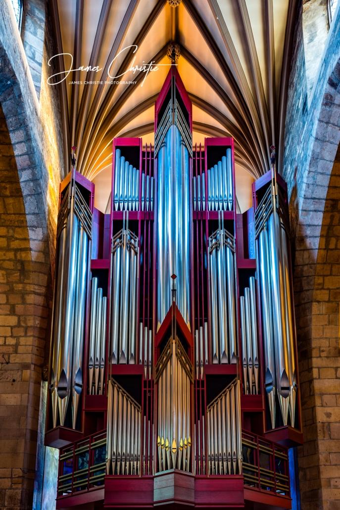 Edinburgh photography tours, Edinburgh photowalk, Pipe organ, Saint Giles cathedral