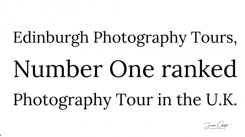 Edinburgh Photography Tours