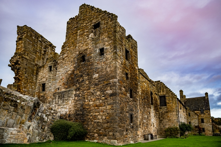 Aberdour Castle, Outlander TV series