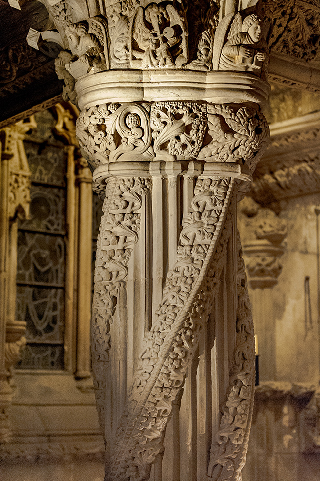 apprentice pillar, Rosslyn chapel