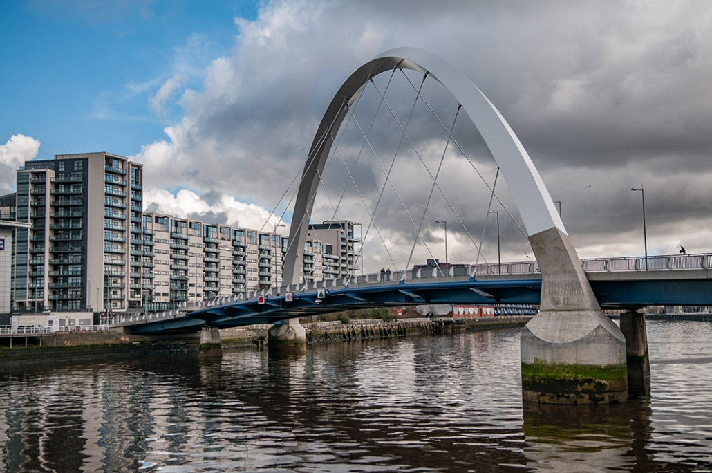 Clyde Arc, Squinty Bridge, Glasgow