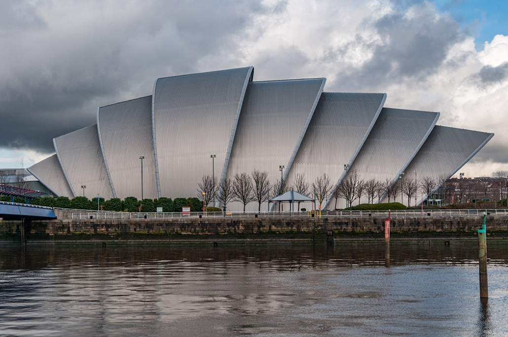 SEC Armadillo, River Clyde, Glasgow