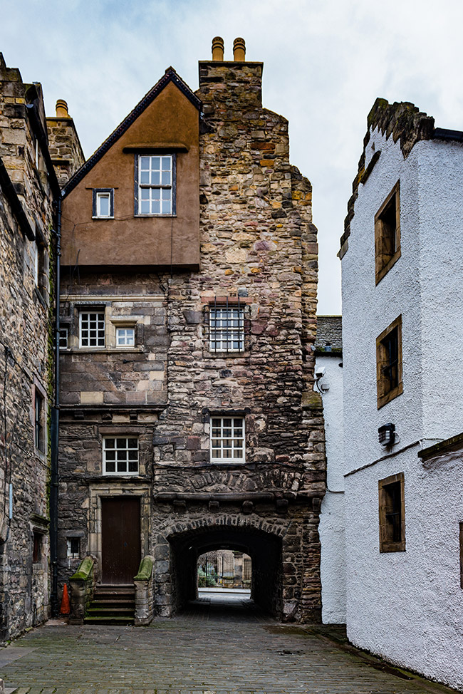 Bakehouse Close, Royal Mile, Edinburgh