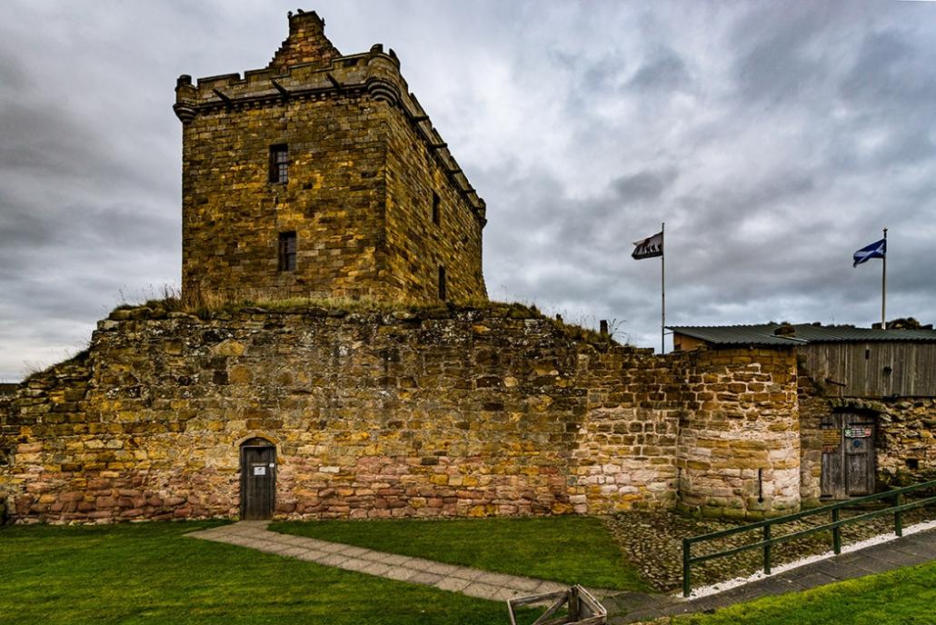 Balgonie Castle, Outlander