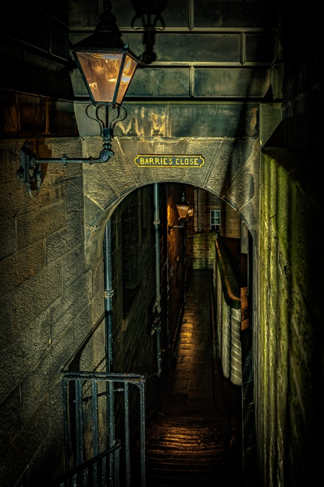 Barrie's Close, Royal Mile, Edinburgh