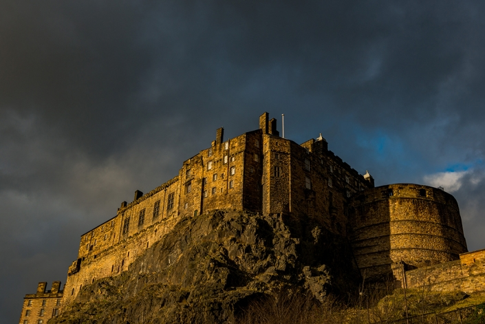 Edinburgh castle, Grassmarket