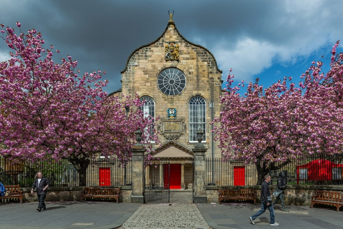 Canongate Kirk, Royal Mile