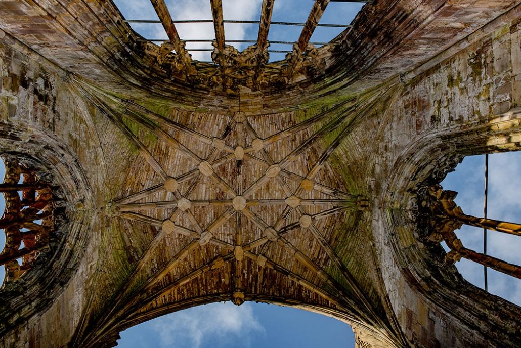 Melrose Abbey, Ceiling, Scottish Borders