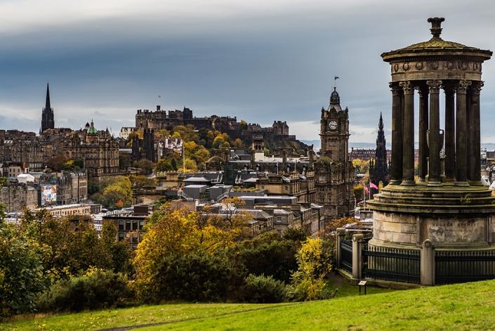 Edinburgh skyline, Edinburgh cityscape