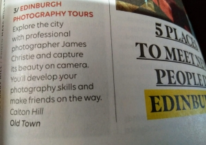 Edinburgh Photography Tour, Edinburgh Photo Walk, EasyJet