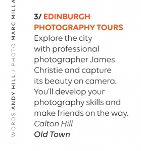 Edinburgh Photography Tours, EasyJet, EasyJet Traveller, EdinBraw