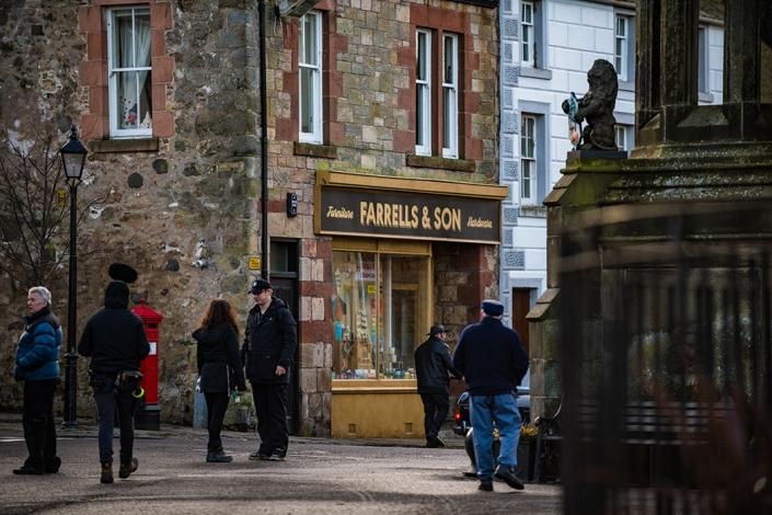 Outlander, Farrells, Falkland, Inverness