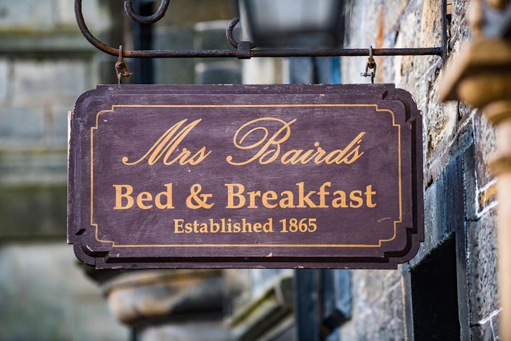 Outlander, Mrs Baird's, Falkland, Inverness