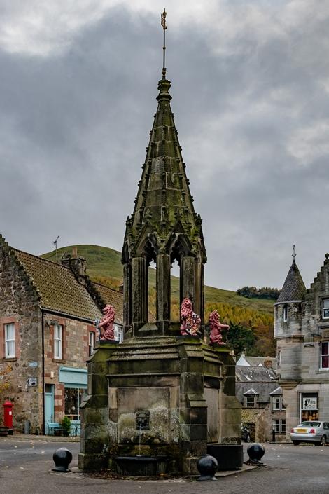 Outlander, Inverness, Falkland