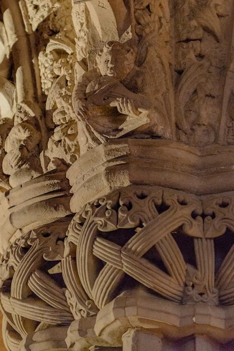 master mason's pillar, Rosslyn chapel