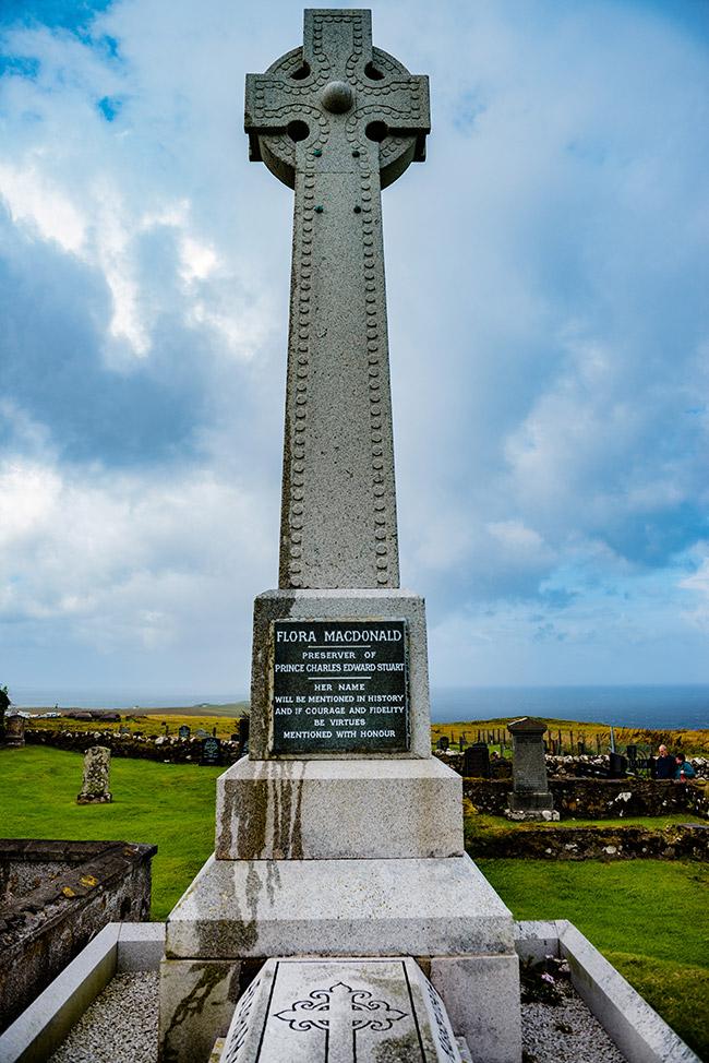 Flora MacDonald's Grave, Isle of Skye