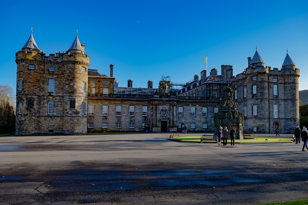Palace of Holyroodhouse, Holyrood Palce