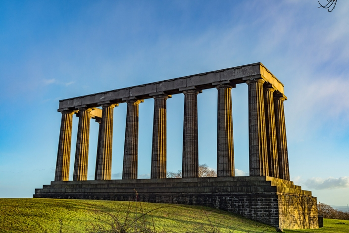 National Monument of Scotland, Calton Hill