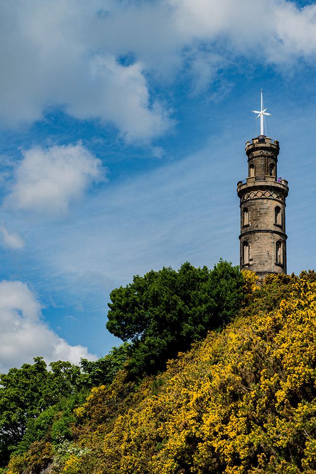 Nelson Monument, Calton Hill, Horatio Nelson