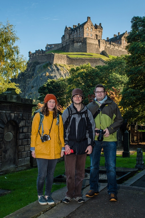 Edinburgh Photography Tours participants