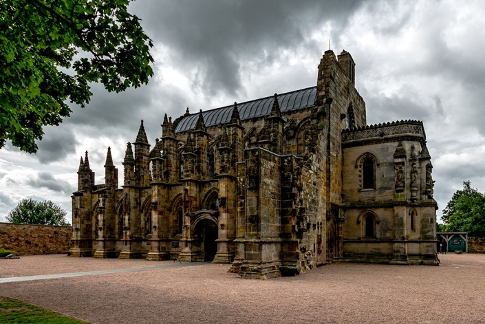 Rosslyn Chapel, near Edinburgh