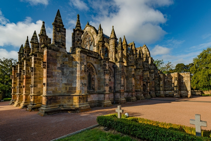 Rosslyn chapel, Midlothian, Scotland