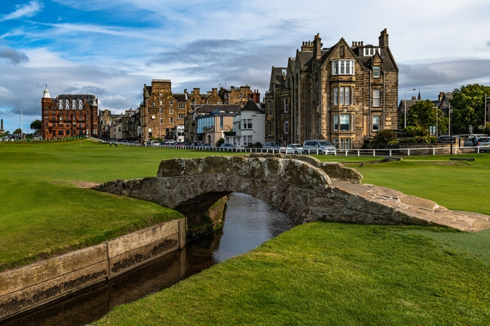 Swilcan Bridge, Old Course, Saint Andrews, Swilken Bridge